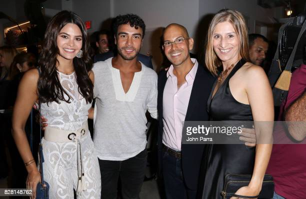 Tony Garza Eddie Garza and Kristie Middleton attend the Salud A Forward Food Culinary Celebration in collaboration with The Humane Society of the...