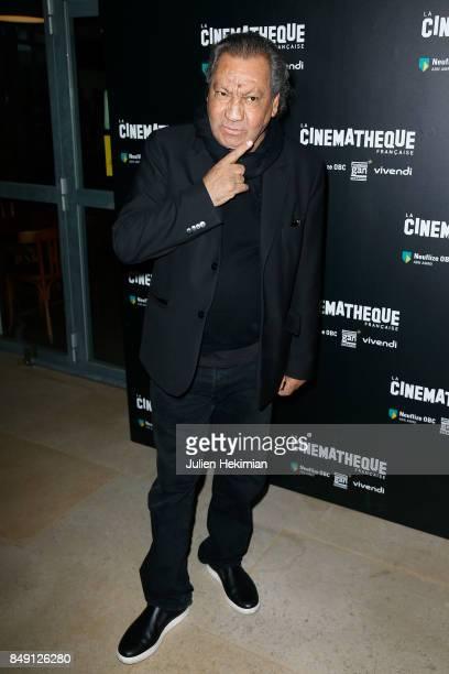 Tony Gatlif attends 'Happy End' Paris Premiere at la cinematheque on September 18 2017 in Paris France