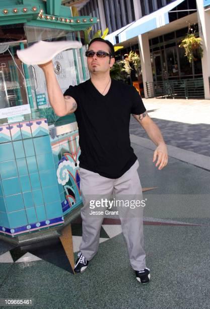 Tony Gemignani World Pizza Throwing Champion during 2006 Newport Beach Film Festival 'Pizza The Movie' Screening at Lido Theatre in Newport Beach...