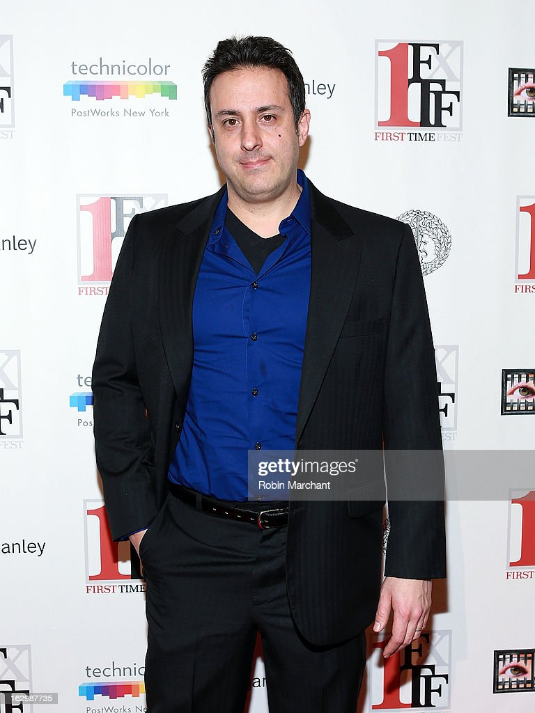 Tony Glazer attends 'Junction' during the 2013 First Time Fest at AMC Loews Village 7 on March 2, 2013 in New York City.