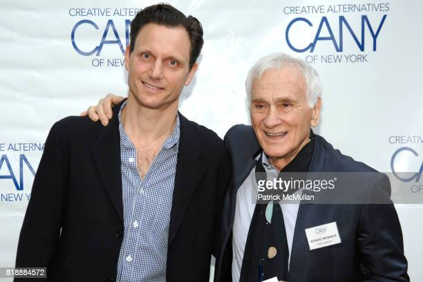 Tony Goldwyn and Dick Latessa attend 2010 Annual Gala Creative Alternatives of New York 'BROADWAY AT THE BOATHOUSEENCORE'Arrivals at The Loeb Central...