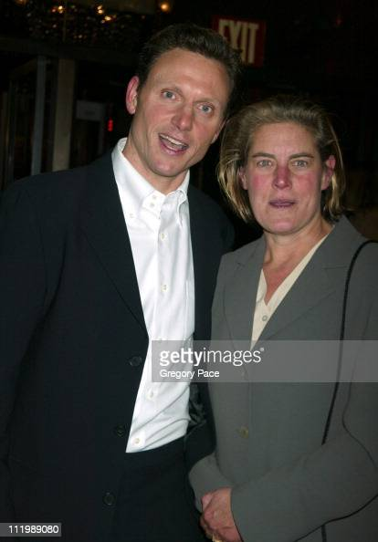 Tony Goldwyn and wife Jane...