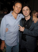 Tony Goldwyn director and Zach Braff during The Cinema Society and DKNY Jeans Present Screening of 'The Last Kiss' After Party at SoHo Grand in New...