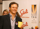 Tony Goldwyn during The Creative Coalition Benefit Gala for the First Amendment featuring The Red Hot Chili Peppers sponsored by Stoli and Kahlua at...