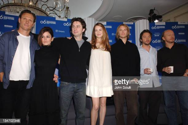 Tony Goldwyn Rachel Bilson Zach Braff Jacinda Barrett Eric Christian Olsen Michael Weston and Paul Haggis