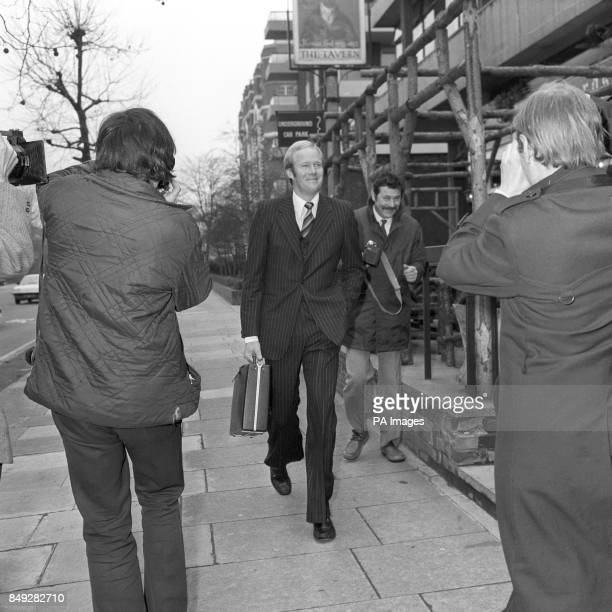 Tony Greig arrives at Lord's cricket ground in London to appear before a disciplinary committee of the Test and County Cricket Board He faces a...