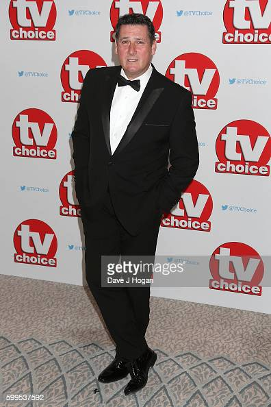 Tony Hadley arrives for the TVChoice Awards at The Dorchester on September 5 2016 in London England
