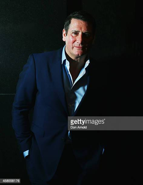 Tony Hadley of Spandau Ballet arrives at the special screening of 'Soul Boys of the Western World' at Hayden Orpheum on November 7 2014 in Sydney...