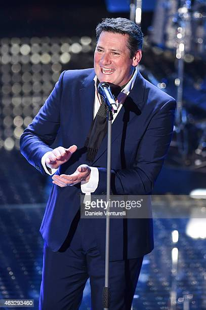 Tony Hadleyattends the thirth night of 65th Festival di Sanremo 2015 at Teatro Ariston on February 12 2015 in Sanremo Italy