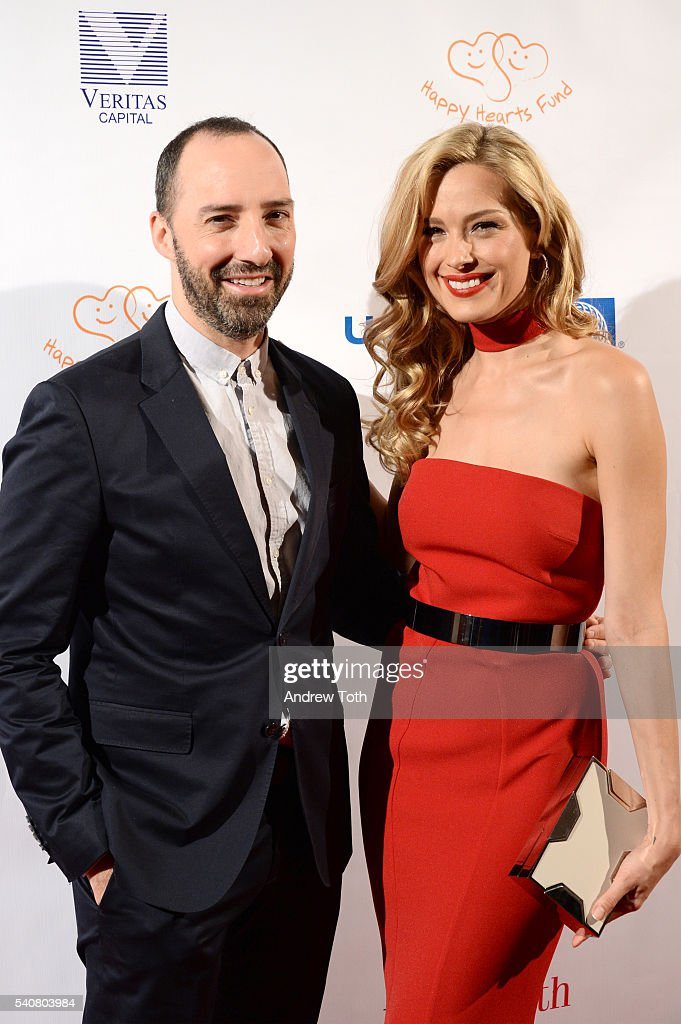 Tony Hale and Petra Nemcova attend the 2016 Happy Hearts Fund Gala at Hammerstein Ballroom on June 16 2016 in New York City