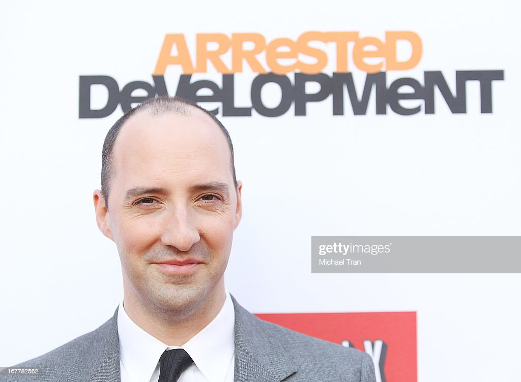 <a gi-track='captionPersonalityLinkClicked' href=/galleries/search?phrase=Tony+Hale&family=editorial&specificpeople=745565 ng-click='$event.stopPropagation()'>Tony Hale</a> arrives at Netflix's Los Angeles premiere of 'Arrested Development' season 4 held at TCL Chinese Theatre on April 29, 2013 in Hollywood, California.