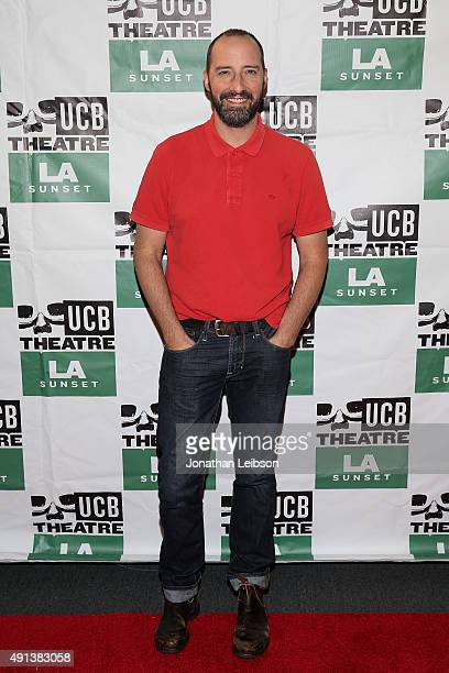 Tony Hale attends the Los Angeles Premiere Of Matt Walsh's 'A Better You' At UCB Sunset at UCB Sunset Theater on October 4 2015 in Los Angeles...