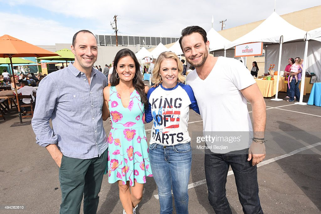 Tony Hale Danica McKellar Melissa Joan Hart and Jonathan Sidowski attend King Of Harts By Melissa Joan Hart Supports The 26th Annual Elizabeth Glaser...
