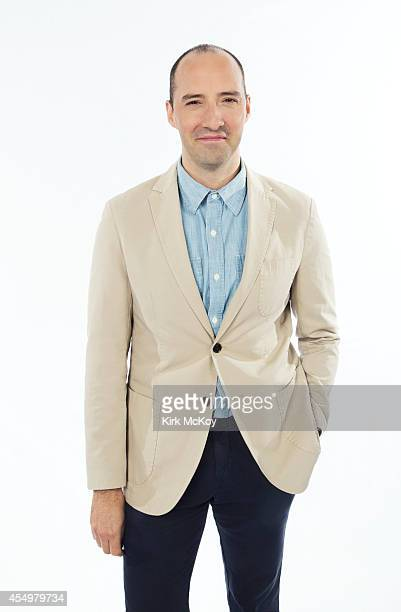 Tony Hale is photographed for Los Angeles Times on August 25 2014 in Los Angeles California PUBLISHED IMAGE CREDIT MUST BE Kirk McKoy/Los Angeles...