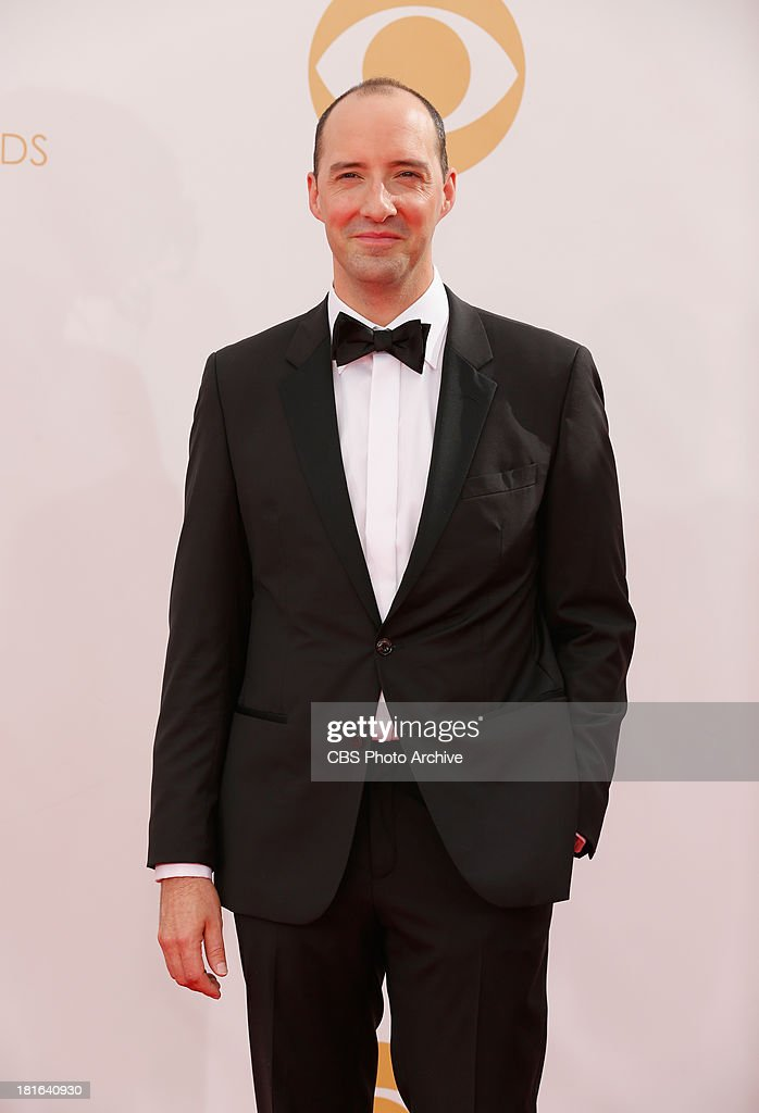 <a gi-track='captionPersonalityLinkClicked' href=/galleries/search?phrase=Tony+Hale&family=editorial&specificpeople=745565 ng-click='$event.stopPropagation()'>Tony Hale</a> on the Red Carpet for the 65th Primetime Emmy Awards, which will be broadcast live across the country 8:00-11:00 PM ET/ 5:00-8:00 PM PT from NOKIA Theater L.A. LIVE in Los Angeles, Calif., on Sunday, Sept. 22 on the CBS Television Network.