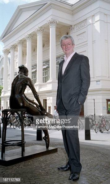 Tony Hall Baron Hall of Birkenhead stands outside the Royal Opera House Covent Garden of which he is chief executive circa 2008 In 2013 Hall was...