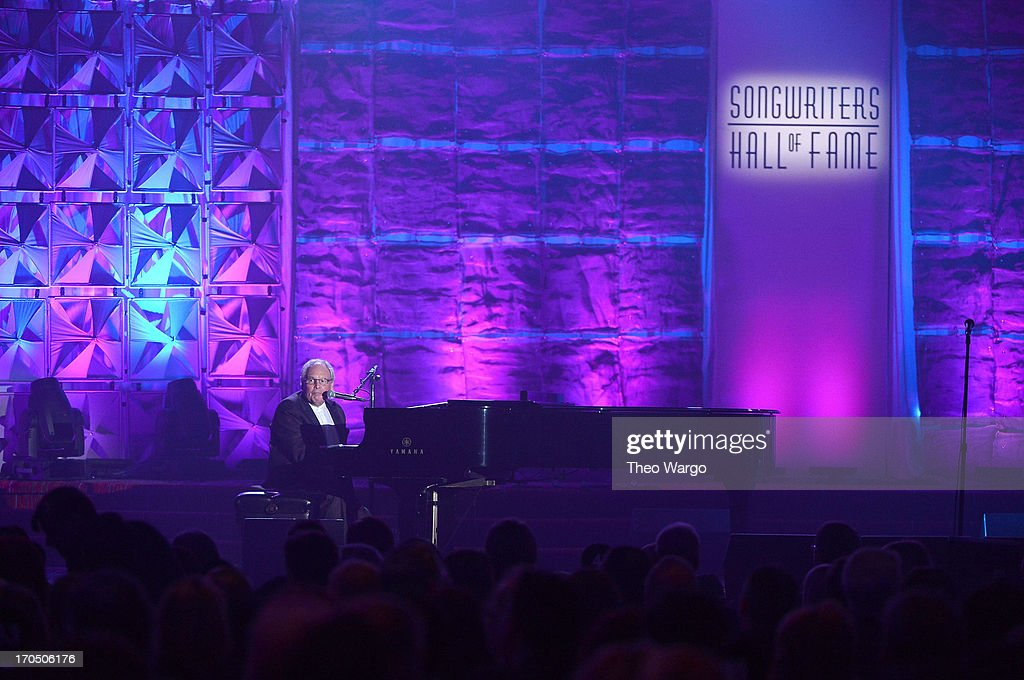 Tony Hatch performs onstage at the Songwriters Hall of Fame 44th Annual Induction and Awards Dinner at the New York Marriott Marquis on June 13, 2013 in New York City.