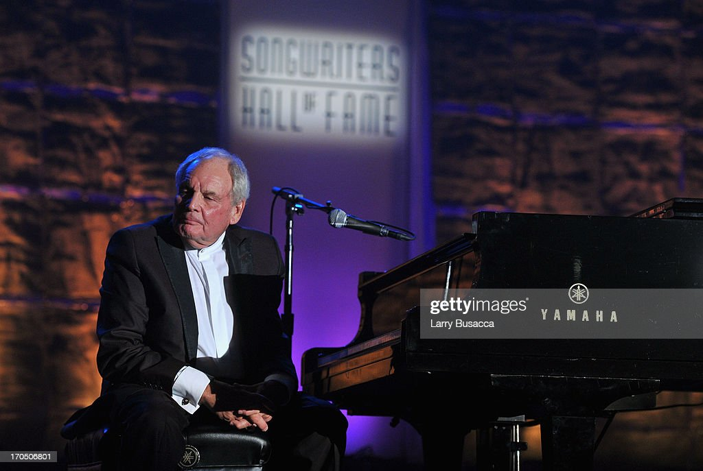 Tony Hatch performs onstage the Songwriters Hall of Fame 44th Annual Induction and Awards Dinner at the New York Marriott Marquis on June 13, 2013 in New York City.