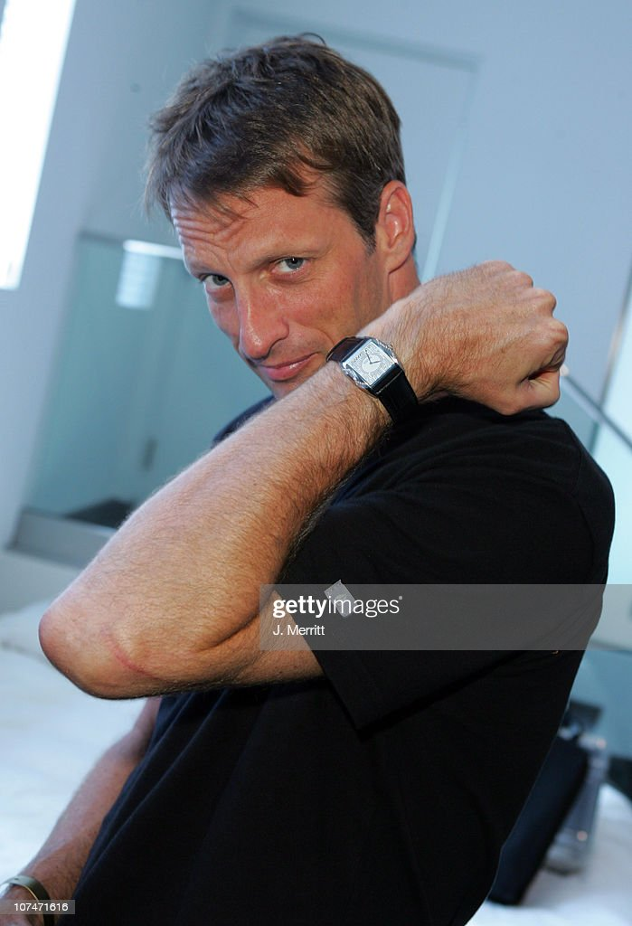 Tony Hawk at Charles Winston Couture Diamond Watches