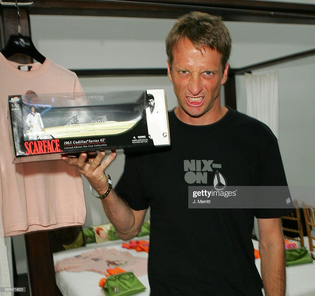 Tony Hawk at Scarface during 2005 MTV VMA The Temple Suite Day 2 at Temple in Miami Florida United States