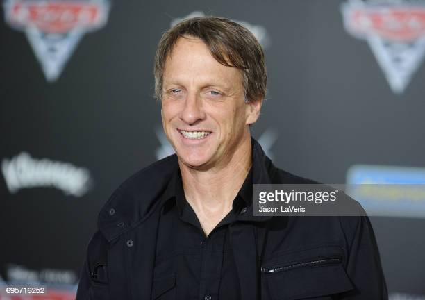 Tony Hawk attends the premiere of 'Cars 3' at Anaheim Convention Center on June 10 2017 in Anaheim California