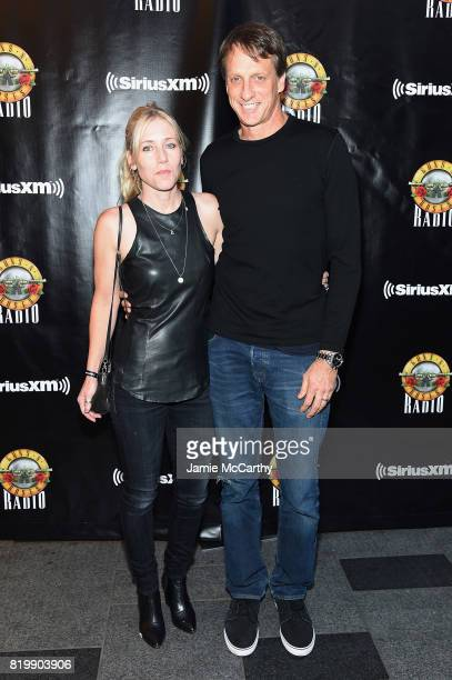 Tony Hawk attends the SiriusXM's Private Show with Guns N' Roses at The Apollo Theater before band embarks on next leg of its North American 'Not In...
