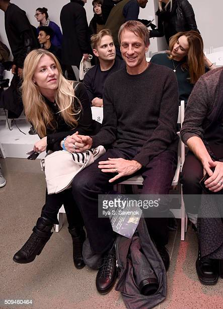Tony Hawk attends the VFILES fashion show during Fall 2016 New York Fashion Week at Spring Studios on February 10 2016 in New York City