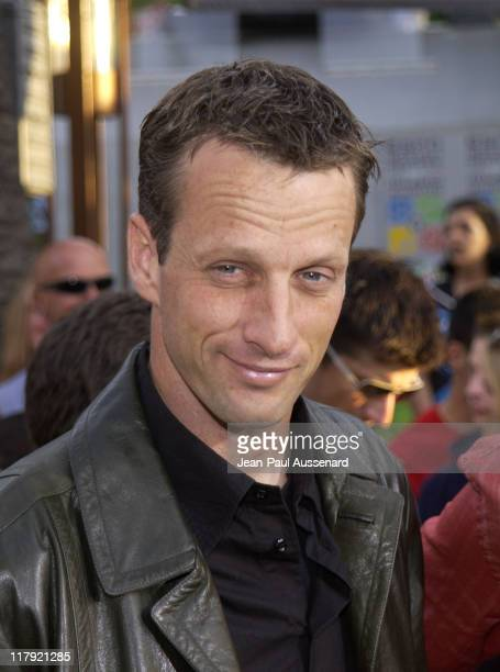 Tony Hawk during ESPN Action Sports and Music Awards Arrivals at The Universal Amphitheater in Universal City California United States