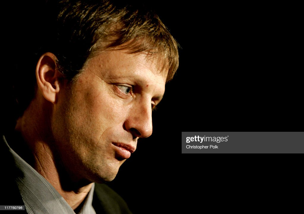 Tony Hawk during Spike TV's 2nd Annual 'Video Game Awards 2004' Red Carpet at Barker Hangar in Santa Monica California United States