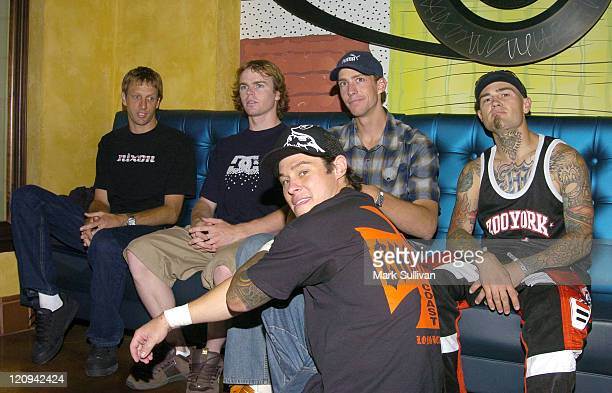Tony Hawk Nate Adams Brian Deegan Travis Pastrana and Mike Metzger