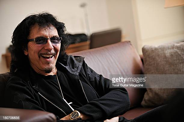 Tony Iommi during an interview at the Hilton hotel in Birmingham September 7 2011