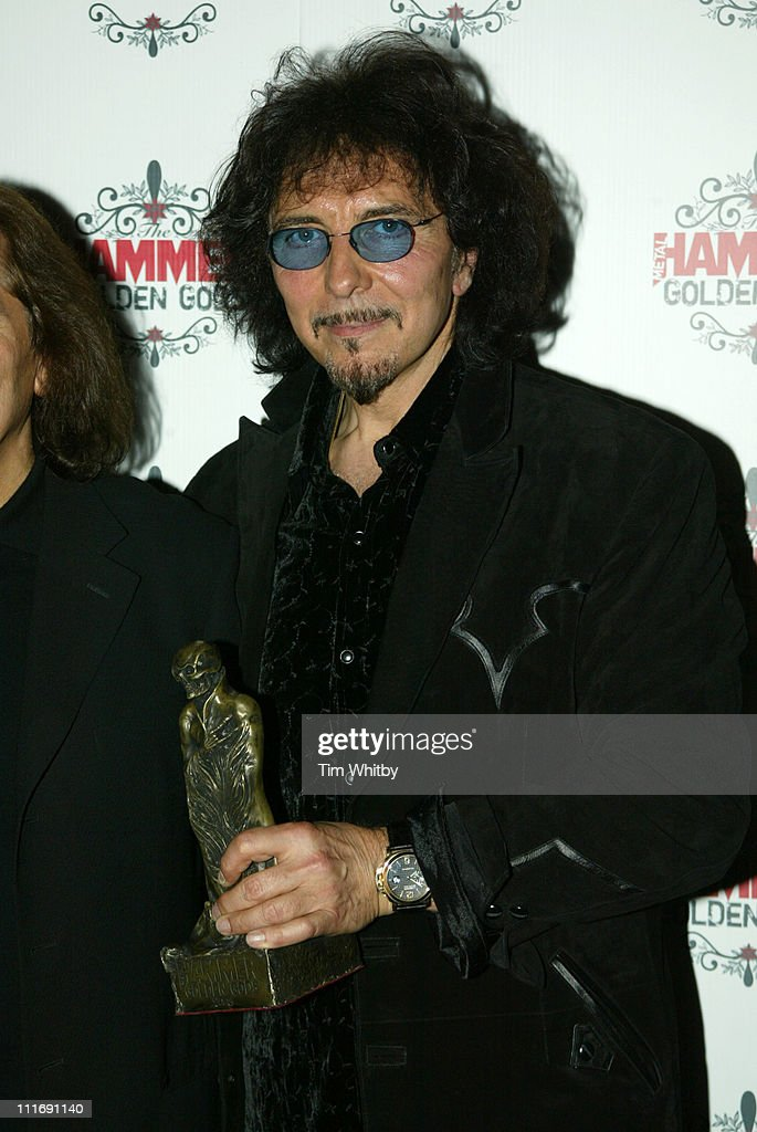 Tony Iommi from Black Sabbath during The Metal Hammer Golden Gods Awards 2005 - Arrivals & Press Room at The Astoria in London, Great Britain.