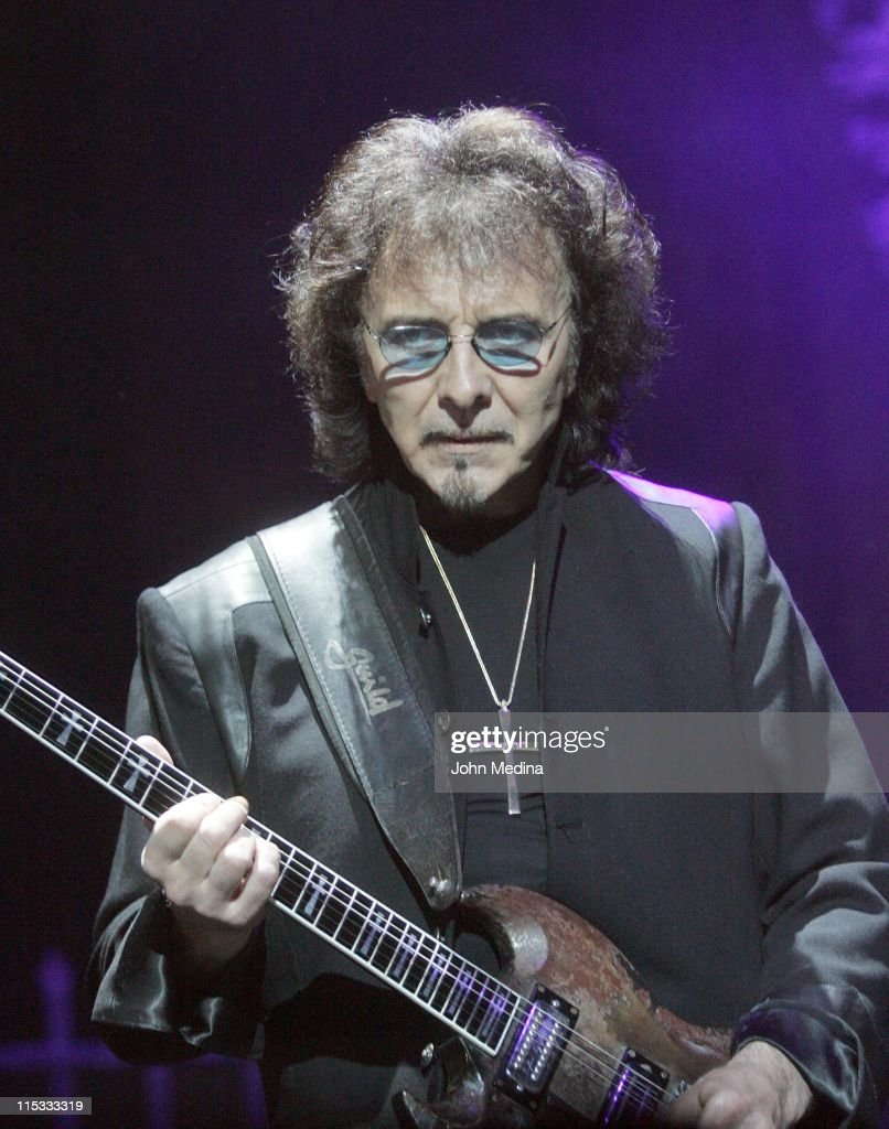 Tony Iommi of Heaven and Hell during Heaven and Hell Performs at the HP Pavilion in San Jose - April 24, 2007 at HP Pavilion in San Jose, California, United States.