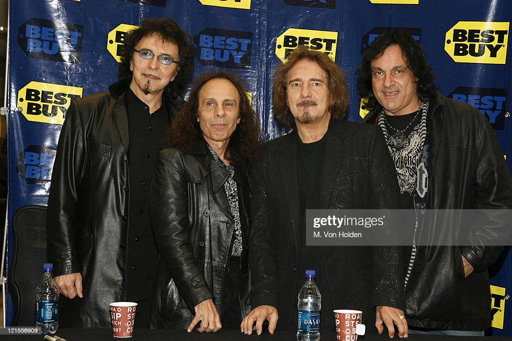 Tony Iommi, Ronnie James Dio, Geezer Butler and Vinny Appice