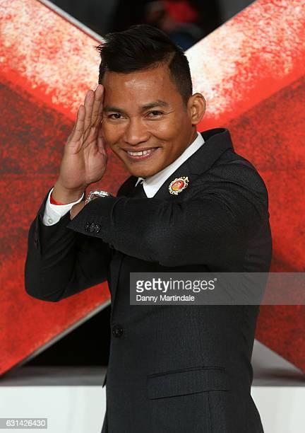 Tony Jaa attends the European premiere of 'xXx Return of Xander Cage' on January 10 2017 in London United Kingdom