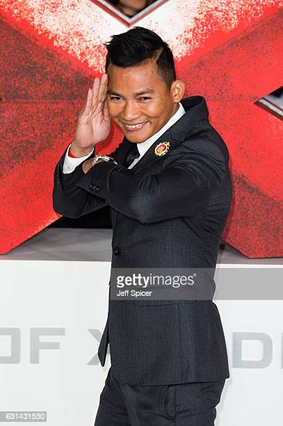 Tony Jaa attends the European premiere of 'xXx' Return of Xander Cage' on January 10 2017 in London United Kingdom