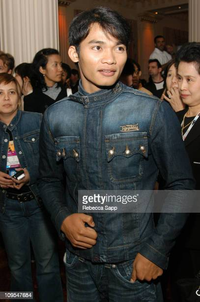 Tony Jaa during 2004 Cannes Film Festival Bangkok Film Festival Party at Majestic Hotel in Cannes France