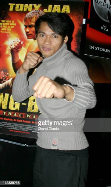 Tony Jaa during 'OngBak' New York City Screening After Party at Lot 61 in New York City New York United States