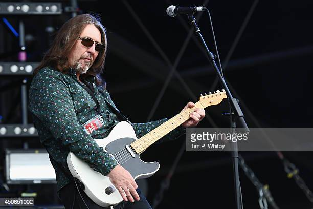 Tony Kelsey of The Move performs at The Isle of Wight Festival at Seaclose Park on June 15 2014 in Newport Isle of Wight