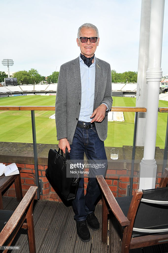 Tony King attends the Savile Row & St James's Presentation during the London Collections: MEN SS14 at Lord's Cricket Ground on June 17, 2013 in London, England.