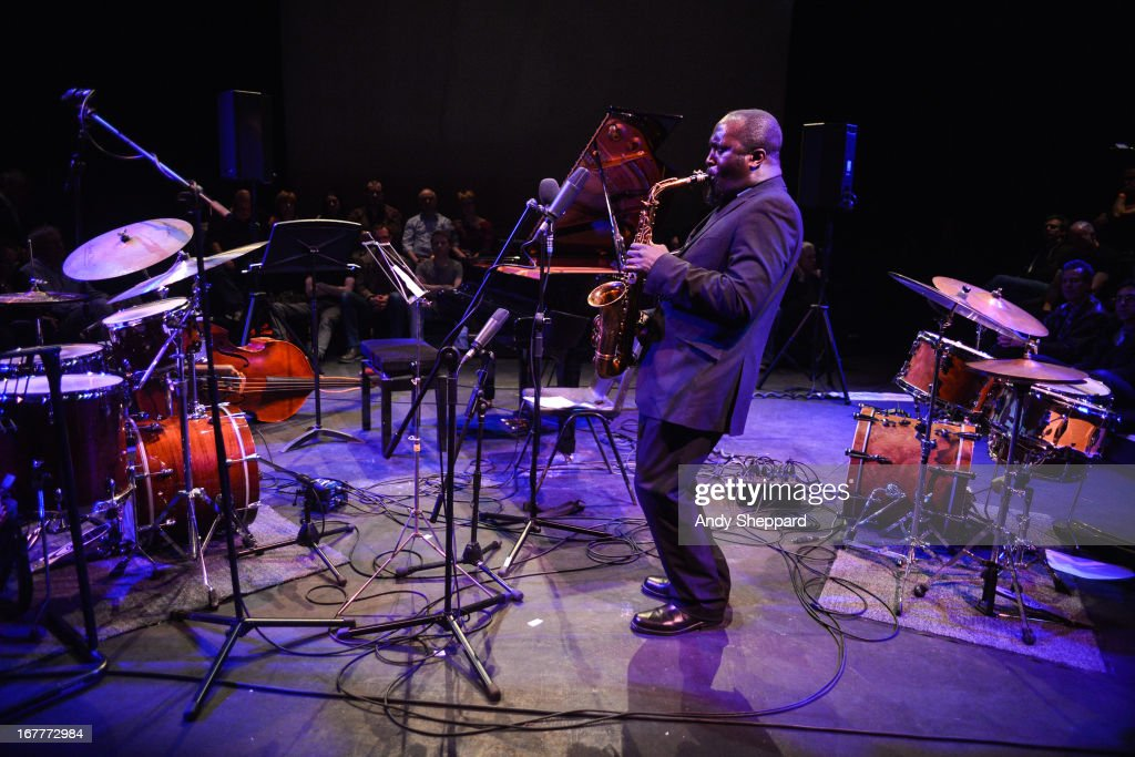 Tony Kofi performs at Jazz In The Round at The Cockpit Theatre on April 29, 2013 in London, England.