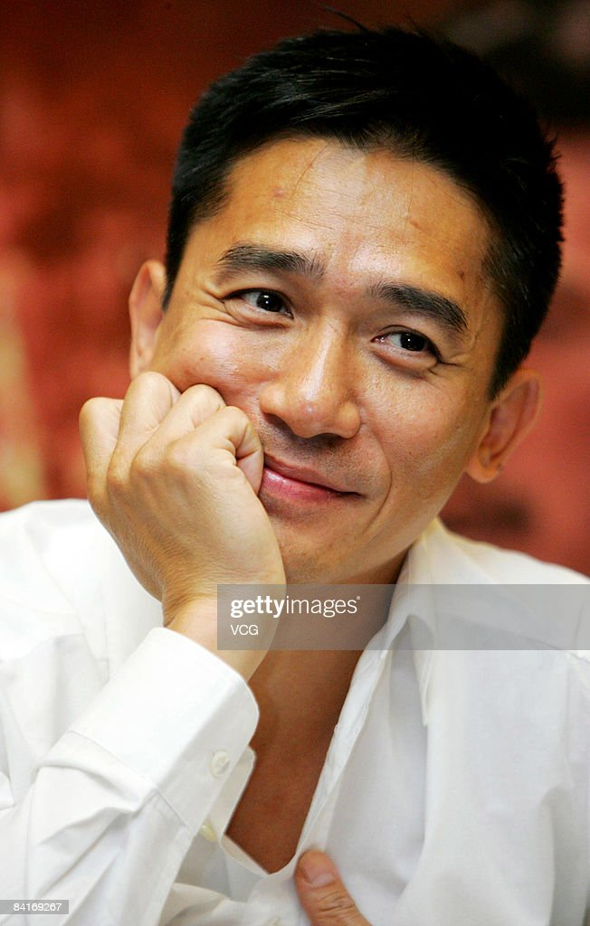 Tony Leung arrives at the premiere of 'Red Cliff Part 2' on January 4, 2009 in Beijing, China.