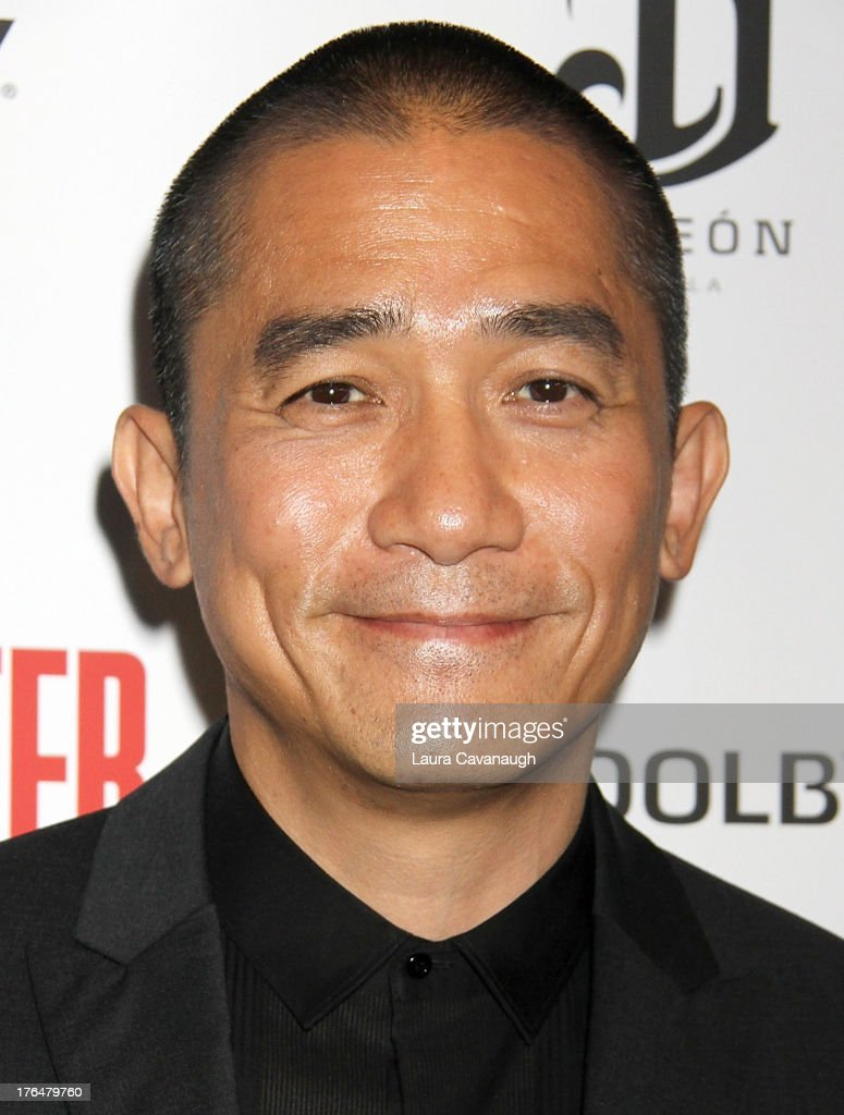 Tony Leung attends 'The Grandmaster' screening at Regal E-Walk Stadium 13 on August 13, 2013 in New York City.