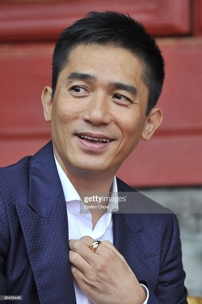 Tony Leung , Hong Kong Actor attends the opening of the 'Cartier Treasures' exhibition at the Forbidden City September 4, 2009 in Beijing, China.