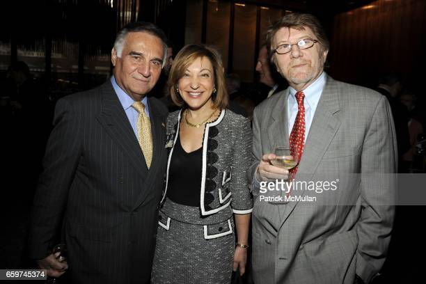 Tony Lo Bianco Janice Kaplan and Gianni Bozzacchi attend PARADE MAGAZINE and SI Newhouse Jr honor Walter Anderson at The 4 Seasons Grill Room on...