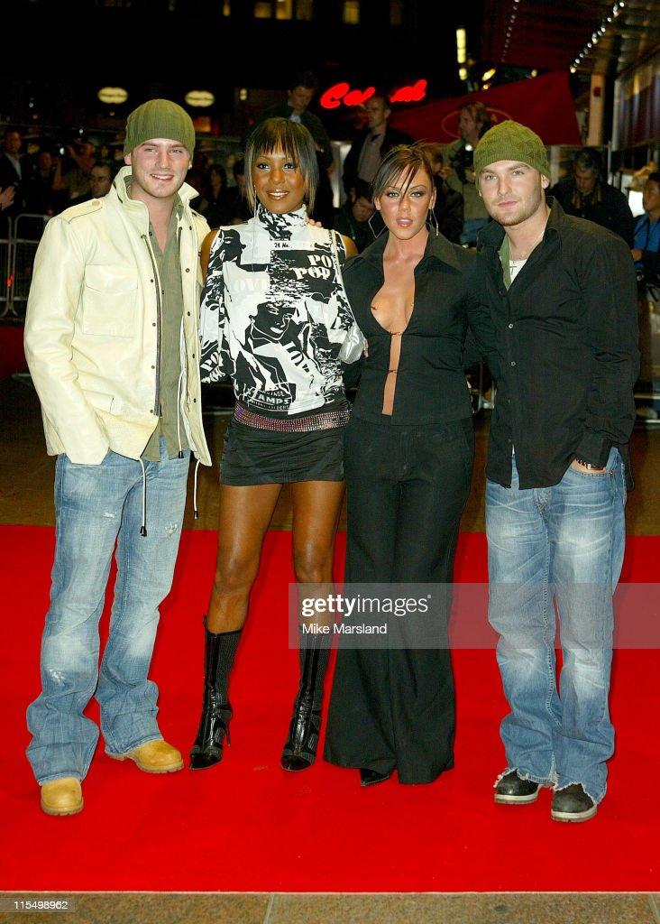 Tony Lundon, Kelli Young, Michelle Heaton and Kevin Simm of Liberty X