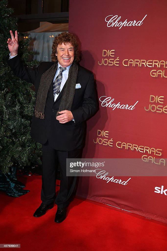 Tony Marschall attends the 19th Annual Jose Carreras Gala at Europapark on December 19, 2013 in Rust, Germany.
