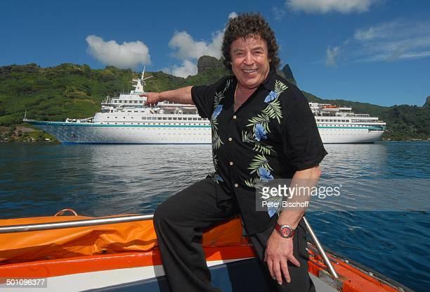 Kreuzfahrtschiff MS 'Albatros' Insel Moorea FranzösischPolynesien Südsee Kreuzfahrt Schiff Tender Meer Urlaub SchlagerSänger Promi BB DIG PNr 348/2008