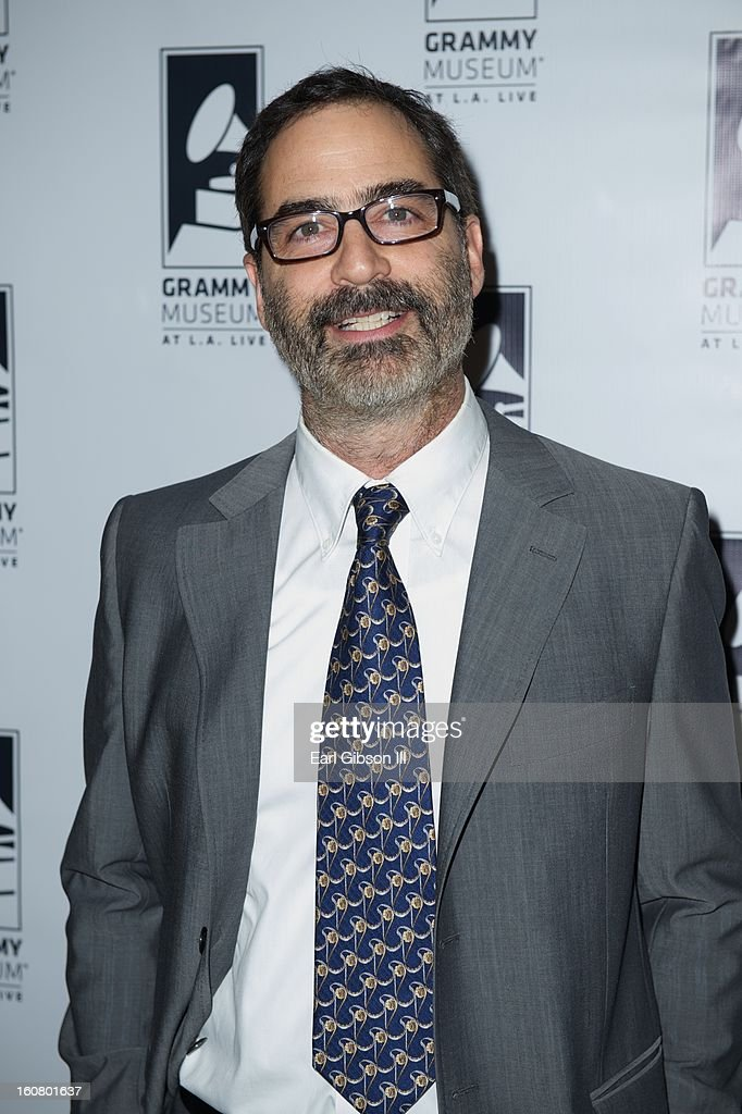 Tony Maserati attends 'Happy On The Ground: 8 Days At Grammy Camp' at The GRAMMY Museum on February 5, 2013 in Los Angeles, California.