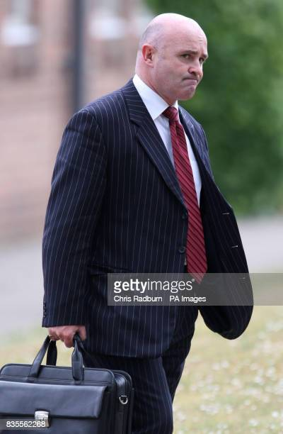 Tony McGarahan brother of Frank McGarahan who was killed in Norwich city centre last year leaves Norwich Crown Court after two brothers today...